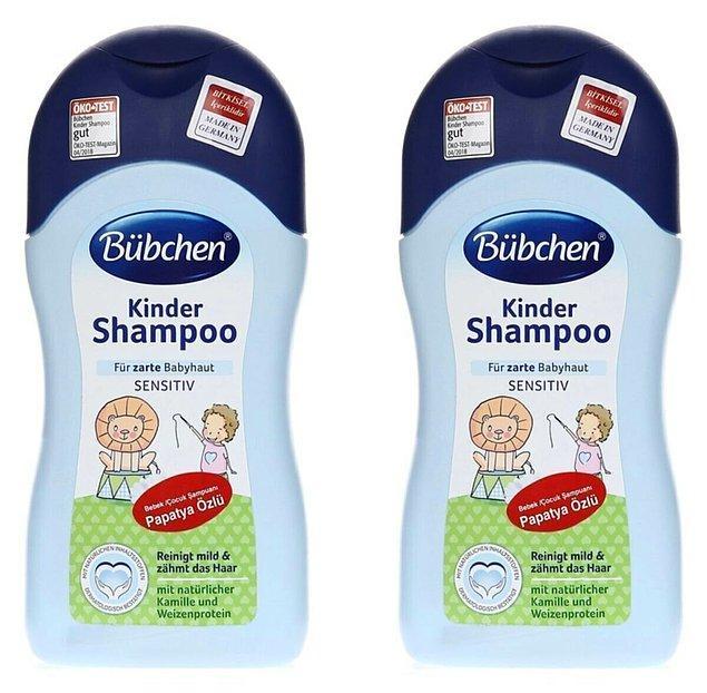 15. Bübchen şampuan denemediyseniz, ufaklıklar için ya da kendiniz için rahatlıkla kullanabilirsiniz!