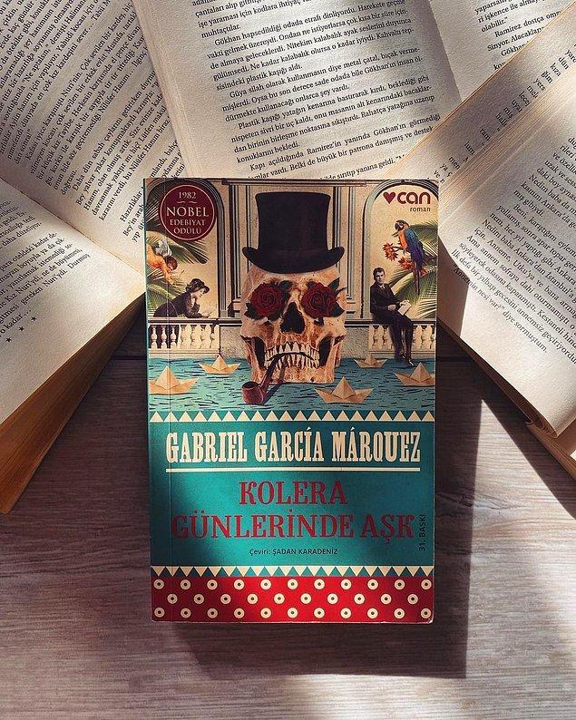 7. Kolera Günlerinde Aşk - Gabriel Garcia Marquez