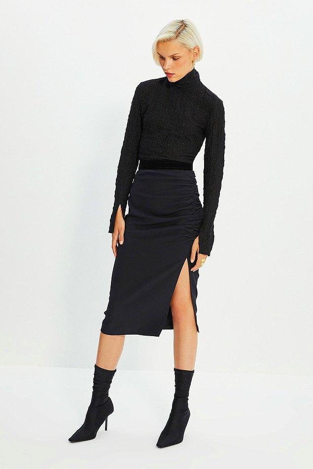 3. Siyah renk kıyafetler tercih edin...