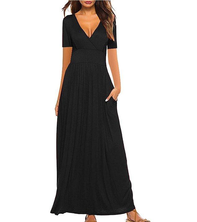 20. Özellikle robadan ve uzun elbise modelleri bacak boyunuzu uzun göstermeye yardımcı olur...