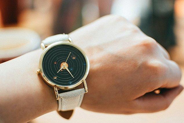 6. Birinin size baktığını düşünüyorsanız kol saatinize bakıyormuş gibi yapın. Kol saatiniz yoksa bile bileğinize bakın. Eğer biri sizi izliyorsa o da istemsiz olarak bileğine bakacaktır.