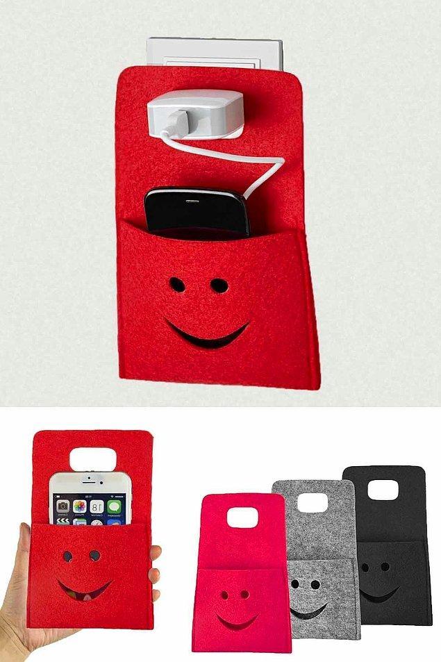 11. Telefonunuz şarjdayken koyacak yer arıyorsanız bu ürün tam size göre.