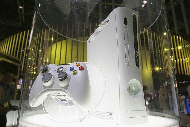 18. Dönemin yeni jenerasyon konsolu Xbox 360 Tokyo Game Show esnasında sergileniyor. - 2005