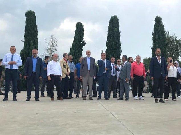 Mitingde Abdurrahman Dilipak, Hamza Yardımcıoğlu, Erkan Trükten, Bilgehan Bilge, Bora Gencer, yazar Sema Maraşlı, Zafer Ege, Cemil Can konuşma yaptı.
