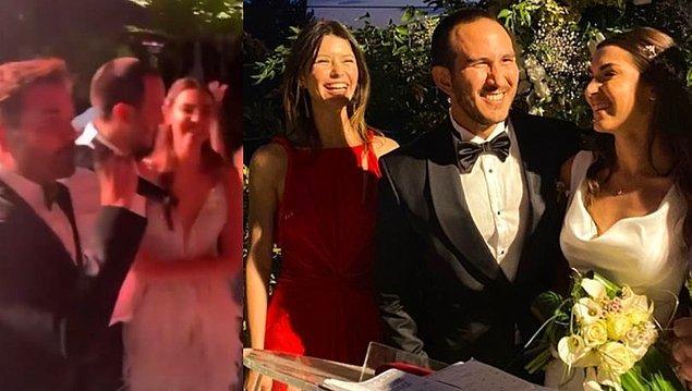 11. Ünlü oyuncu Beren Saat'in trafik kazasında hayatını kaybeden eski sevgilisi Efe Güray'ın kardeşi Yaman Güray, önceki akşam evlendi.
