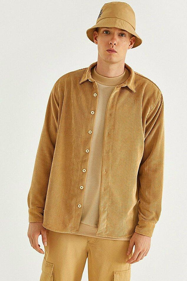 17. Fitilli kadife gömleklerin de havası bir başka oluyor.