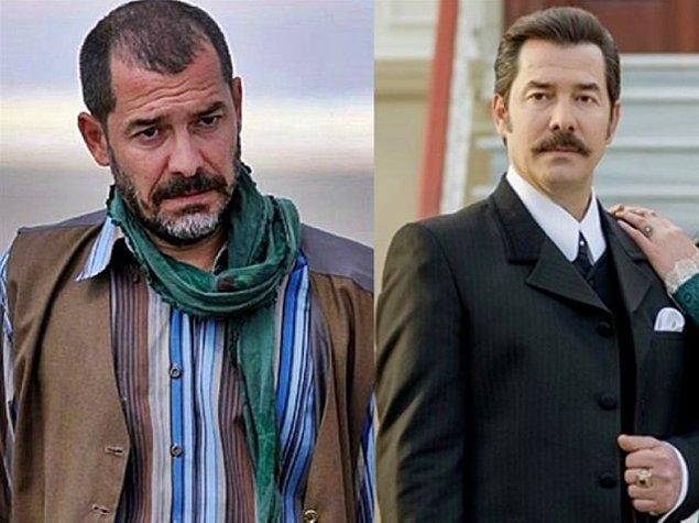 4. Dizilerimizin yakışıklı oyuncu Fikret Kuşkan, yıllar içerisinde saçlarında bazı değişiklikler yapmış.