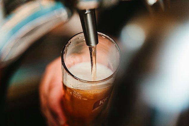 9. Bira ve vajina 4.5 pH seviyesiyle asidik değeri aynıdır.