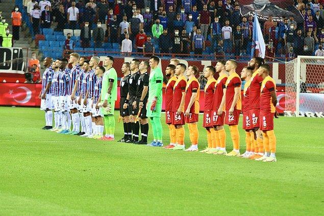 Süper Lig'in 4. haftası Trabzonspor-Galatasaray maçına sahne oldu.