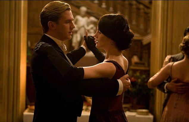 19. Dan Stevens / Downton Abbey (2010- 2015)