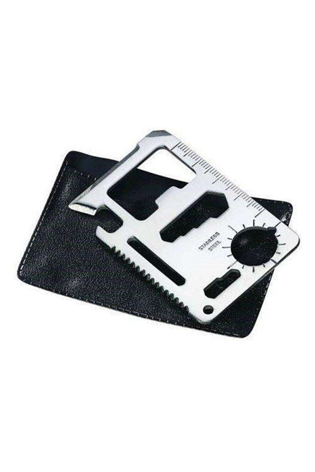 7. Cüzdanınızda rahatlıkla taşıyabileceğiniz çok amaçlı kartlıkların sert yüzeyleri olası bir alıkoyma anında kurtarıcınız olabilir.