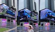 Bu Reklamlar Canlı: 3D 4K Dijital Reklam Panolarında Yer Alan Aşırı Gerçekçi Reklamlar