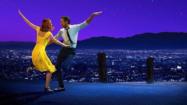 1. La La Land (Aşıklar Şehri) IMDb 8.0