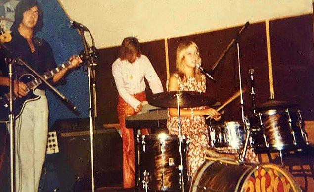 11. Rock grubu provası, Diyarbakır, 1970.
