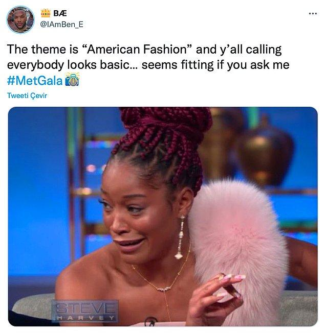 """4. """"Amerikan modası konseptinde herkesin sıradan göründüğü söyleniyor. Bana sorarsanız olmuş gibi."""""""