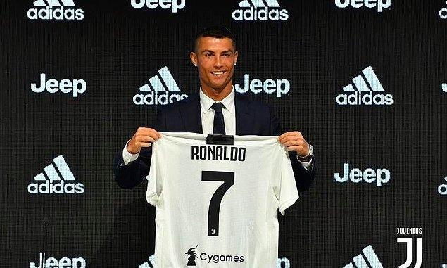 Bildiğiniz gibi Ronaldo 2018 yılında büyük umutlarla Juventus'a transfer olmuştu...