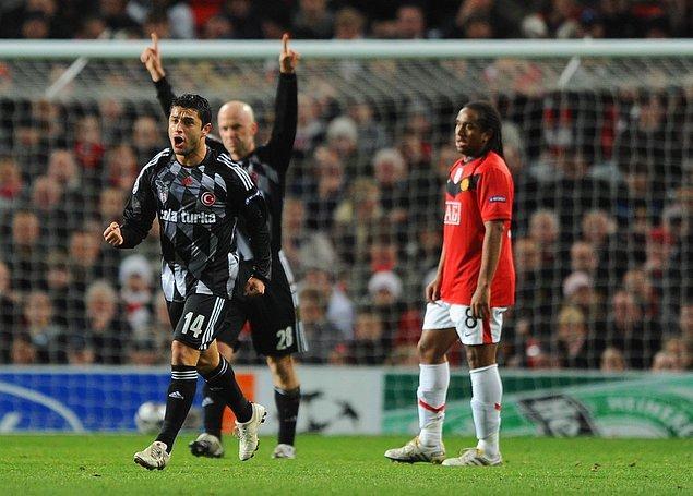 6. 25 Kasım 2009 / Manchester United 0:1 Beşiktaş