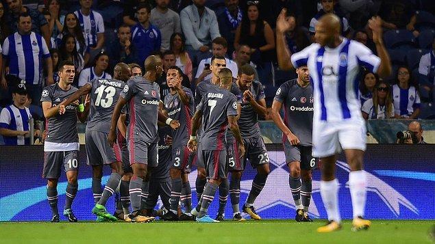 4. 13 Eylül 2017 /  Porto 1:3 Beşiktaş