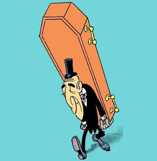 Cenaze levazımatçısı olmak