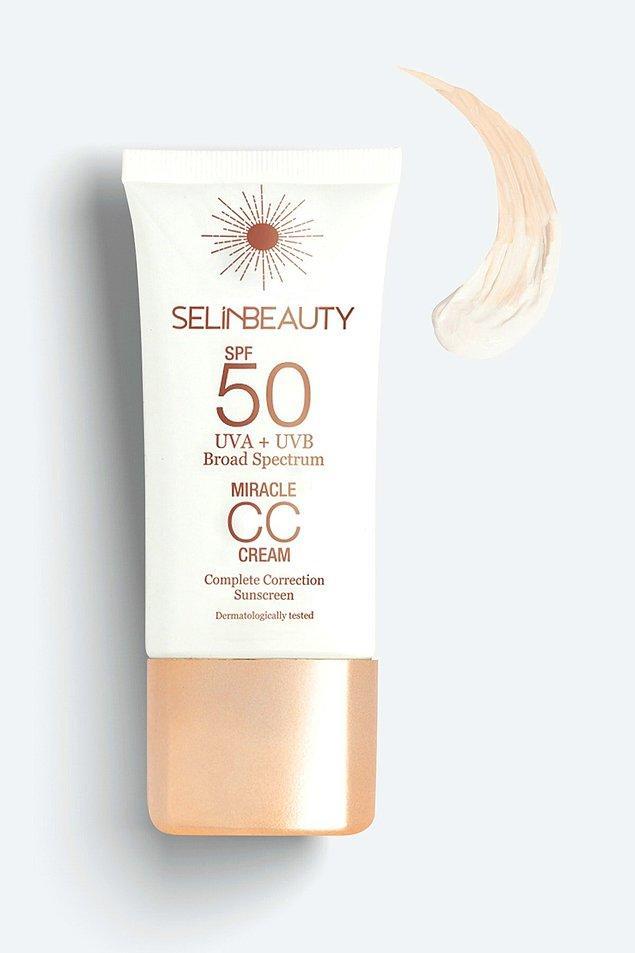 10. BB krem kadar popüler olmasa da Selin Beauty CC krem de çok beğenilen ürünlerden biri.