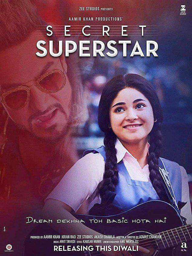 11. Secret Superstar (Süperstar) - IMDb: 7.8