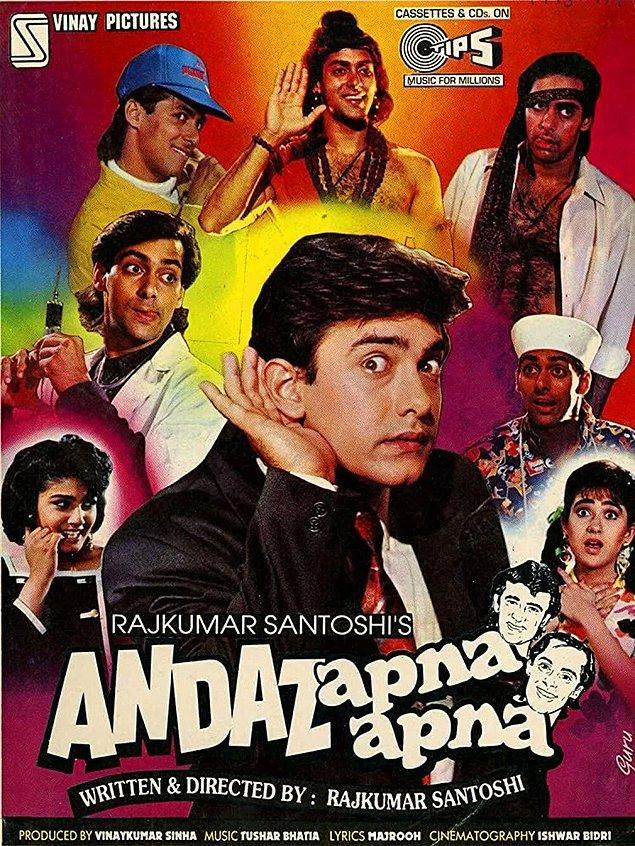 7. Andaz Apna Apna - IMDb: 8.1