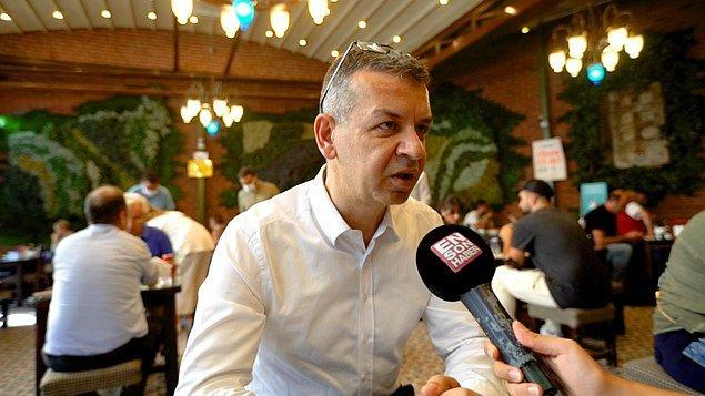 """İstanbul Kadıköy'de bulunan """"Dürümcü Emmi"""" isimli kebapçının sahibi 8 bin 400 lira maaşla uzun zamandır garson bulamadığını söyledi."""