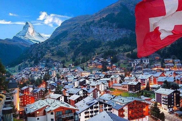 27. İsviçre: 4,4 gün