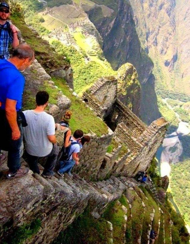 6. Huayna Picchu, Inka Yolu, Ölüm Merdivenleri: