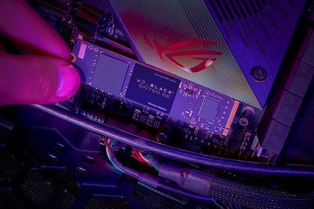 WD_BLACK™ SN750 SE NVMe™ SSD