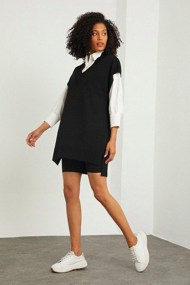 2. Modaya uymak isteyenler için de harika bir tüyomuz var: Süveterler!