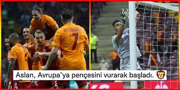 Teşekkürler Strakosha! 😄 Galatasaray UEFA Avrupa Ligi'ndeki İlk Maçında Lazio'yu Tek Golle Geçti