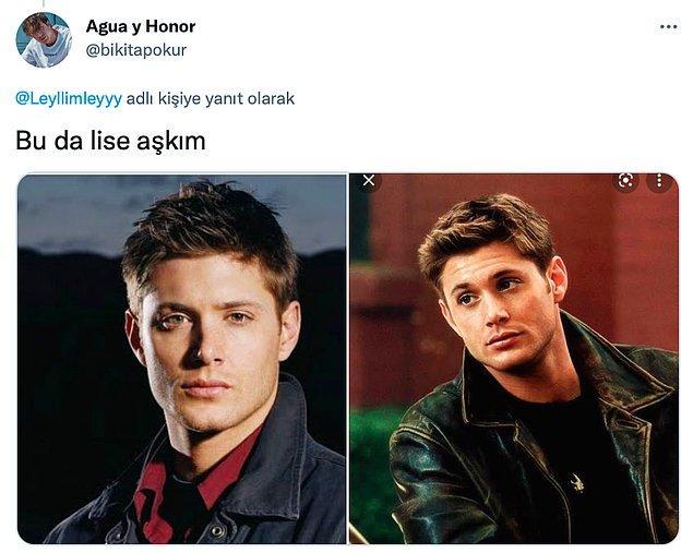 2. 15 sezon boyunca gözlerimizin aşkla bakmasına sebep olan Jensen Ackles...😍