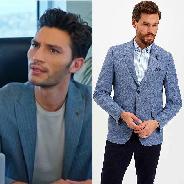 4. Ozan'ın dizideki halleri kadar tarzını da beğeniyorsanız, benzer bir ceket modeliyle karşınızdayım.
