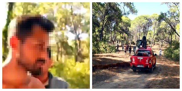 Manavgat'ta Bir Şahıs Dördüncü Kez Yangın Çıkarmaya Çalışırken Yakalandı