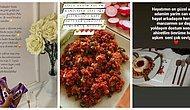 Yemek Fotoğraflarına Yazdıkları İlginç Açıklamalarla Değişik Mesajlar Veren Sosyal Medya Kullanıcıları