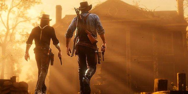 6. Red Dead Redemption 2 - 105 GB