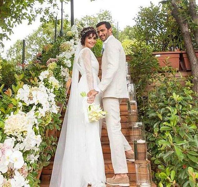 10. Oyuncu Songül öden ve iş insanı Arman Bıçakçı, sade ve mütevazı bir törenle 2021 yazında evlendiler.