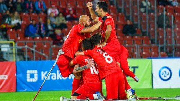 Tarih Yazdılar: Ampute Futbol Milli Takımımız Avrupa Şampiyonu!