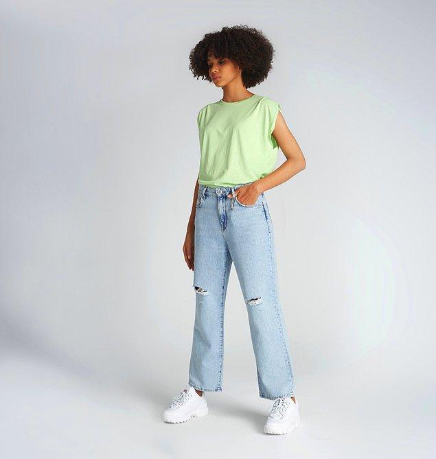10. Biz bu jean pantolona aşık olduk. 😍 970 BERRY