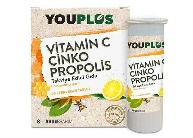 20. Youplus'ın bu vitaminleri enerjinizi yerine getirecek.