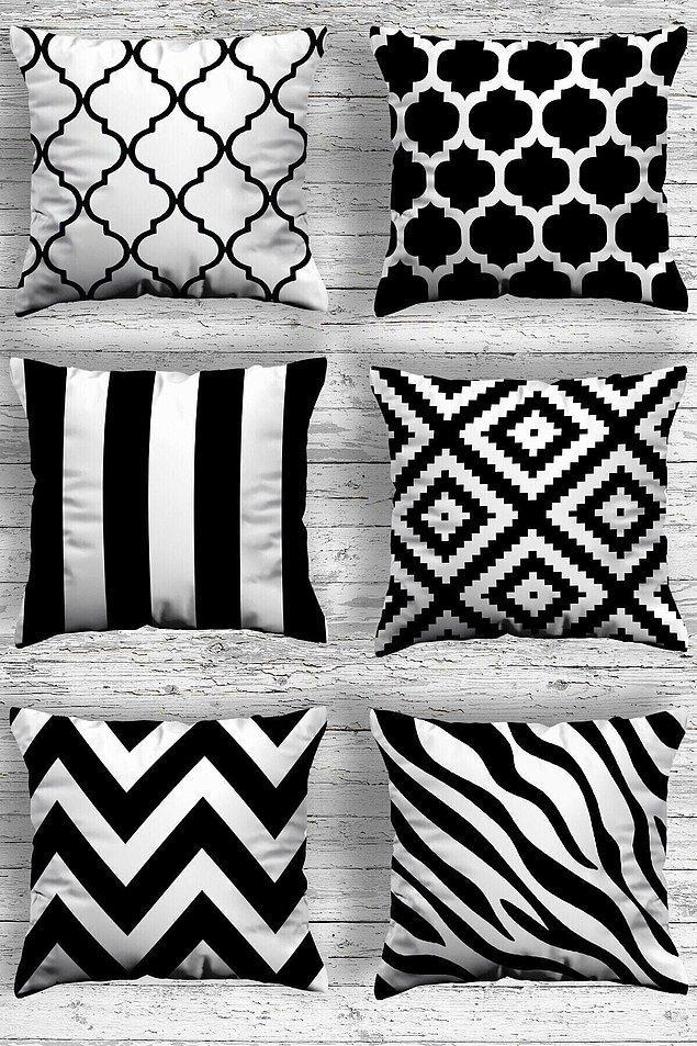 10. Siyah beyaz tasarımların ayrı bir ağırlığı var...