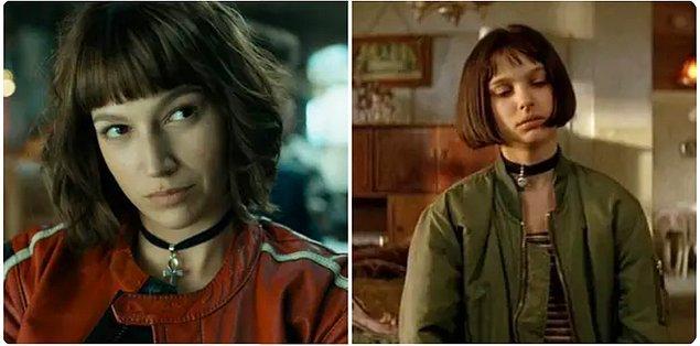 11. Tokyo'nun ise saçlarından giyim tarzına birçok konuda 'Leon' filmindeki Mathilda'dan ilham alınmış.