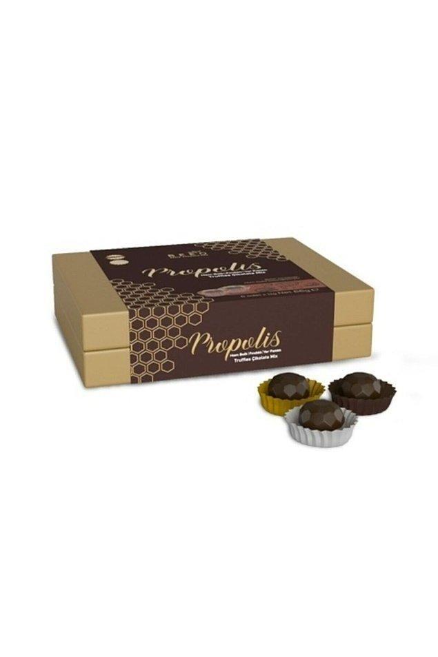 21. Propolisin en güzel hali: çikolatalar!