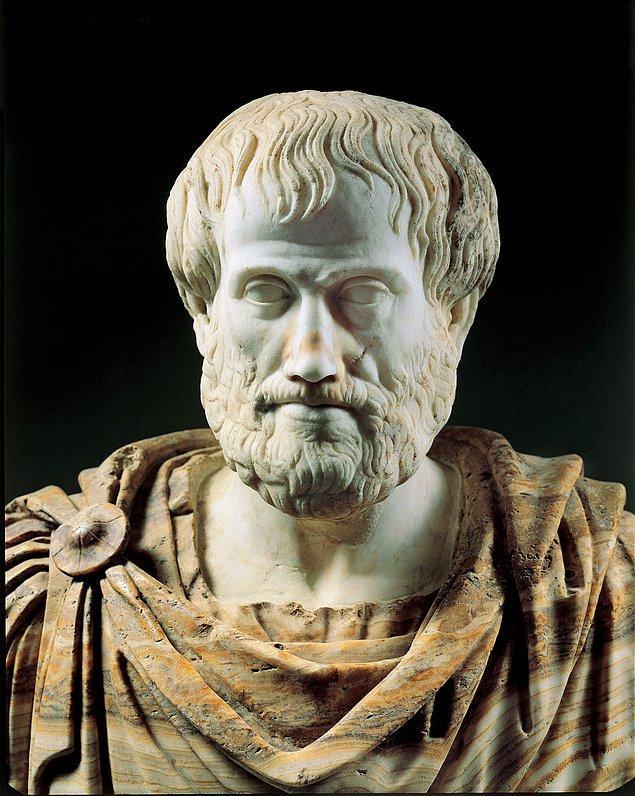 1. Aristoteles, Büyük İskender'in özel öğretmenliğini yapmıştır ve bilim, tıp, botanik gibi dallarda eğitim vermiştir.