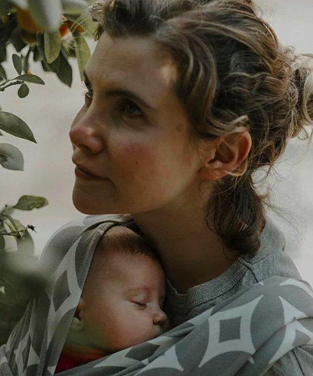 8. Ayşecan Tatari, bakımsız bir anne olduğu yorumlarına kapak gibi bir cevap verdi!
