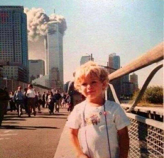 12. Düşünsenize bu çocuk yıllar sonra arkadaşlarına 'bu fotoğraftaki benim, biliyor musunuz' diyecek...