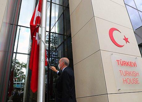 Erdoğan New York'taki Türkevi'nin Açılışında Konuştu: 'Türkiye'nin Başarı Hikayesinin Sembollerinden'