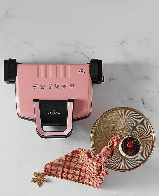 12. Karaca'nın bu tost makinesini almanın tam zamanı.