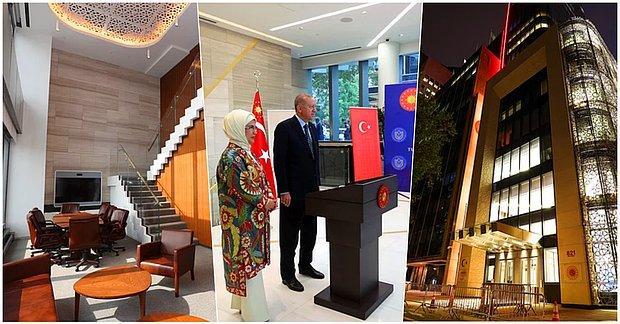 Erdoğan'ın 'Türkiye'nin Başarı Hikayesinin Sembollerinden' Biri Olarak Gördüğü Türkevi'nin Gösterişli Dizaynı